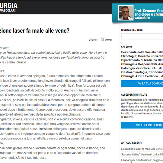 """💥[L'epilazione laser fa male alle vene? L'articolo di """"Repubblica"""" dice che…]💥"""